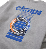 ボーンチャンプス(BORN CHAMPS)  CHMPS ONE CREWNECK CETDMMT03GY