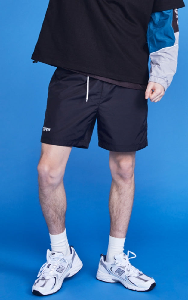 ボーンチャンプス(BORN CHAMPS)  CHMPS SMALL LOGO SHORT PANTS CETBMTP01BK