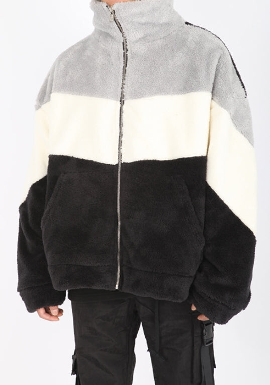 ランベルシオ(LANG VERSIO) 269 acromatic fleece jacket