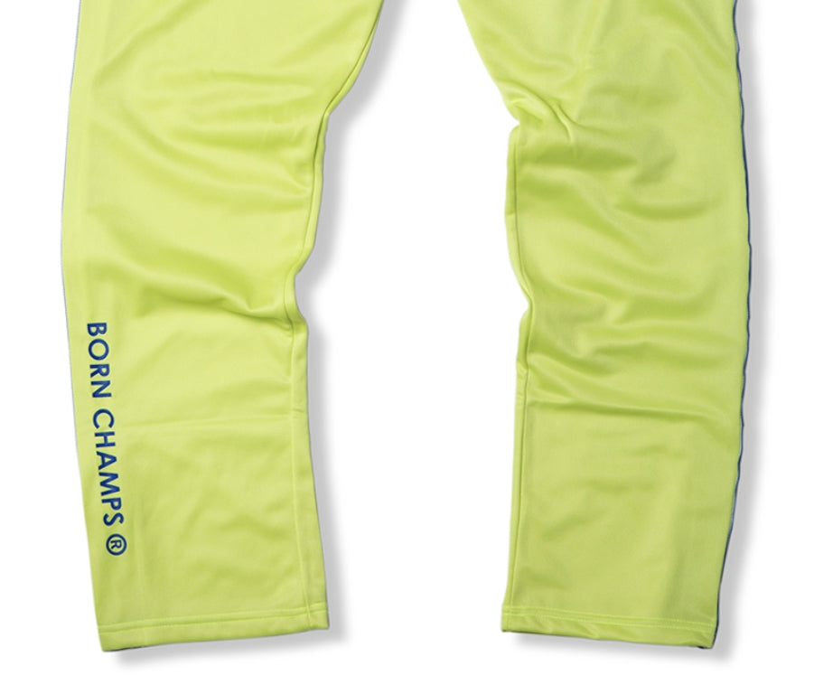 ボーンチャンプス(BORN CHAMPS) BC IB TRACK PANTS 01 LIME CEQCMTP02LI