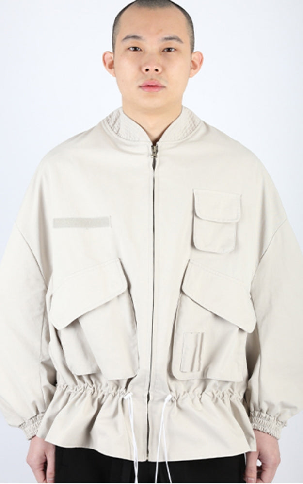 アジョバイアジョ(AJOBYAJO)  Fisherman String Jacket [Ivory]