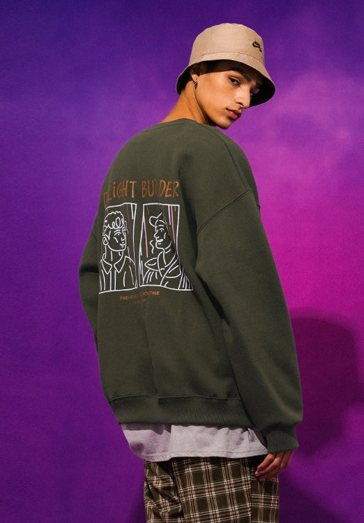ティーダブリューエヌ(TWN)  USUAL SWEAT SHIRT HHMT3323