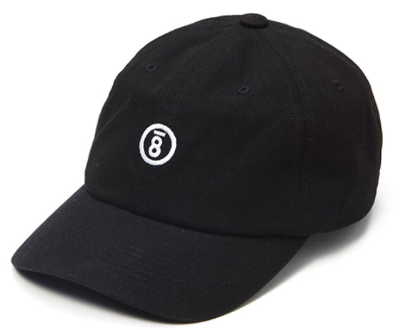 ボーンチャンプス(BORN CHAMPS) BC LOGO 6P CAP BLACK