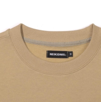 ネイキドニス(NEIKIDNIS)   SERIF SWEAT SHIRT / BEIGE
