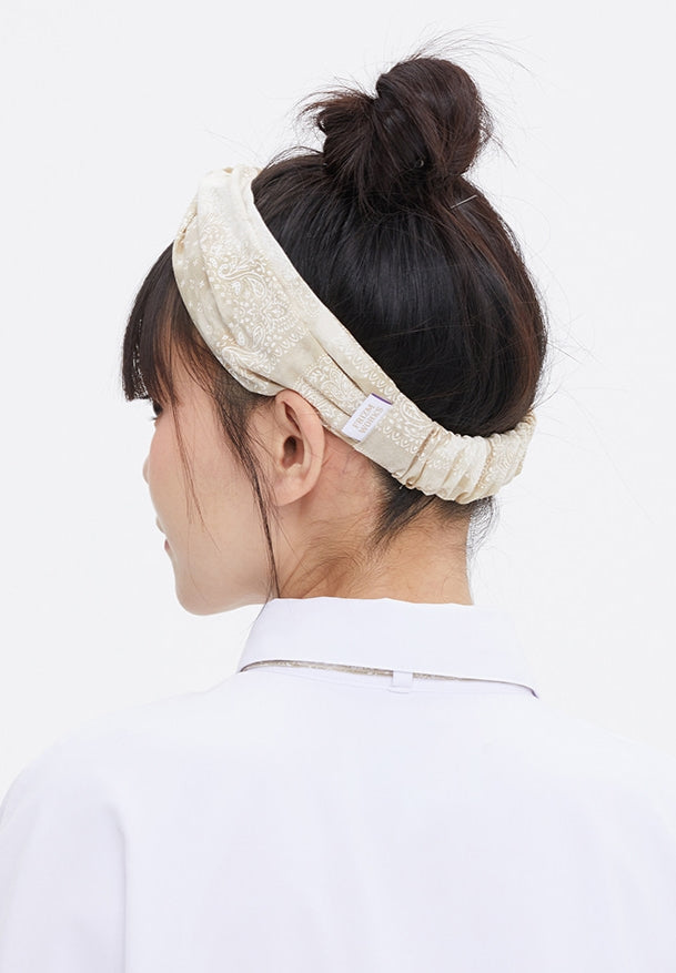 TARGETTO(ターゲット)   [FRIZMWORKS X TGT]PAISLEY HAIR BAND_BEIGE