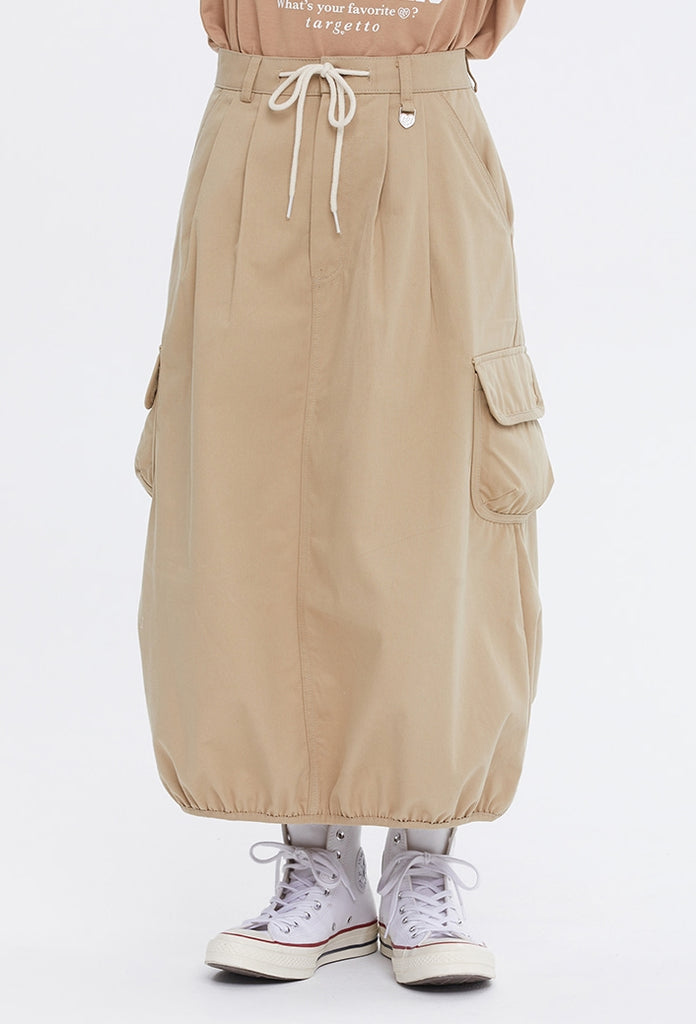 TARGETTO(ターゲット) [FRIZMWORKS X TGT]BALLOON POCKET SKIRT_BEIGE