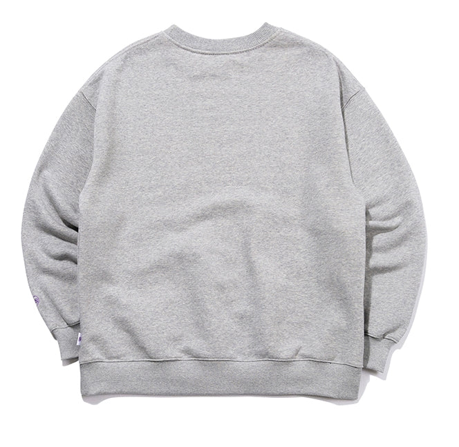 TARGETTO(ターゲット)  [FRIZMWORKS X TGT]COUPLE GRAPHIC SWEAT SHIRT_MELANGE GREY