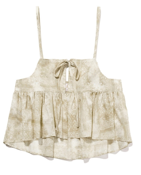 TARGETTO(ターゲット)  [FRIZMWORKS X TGT]PAISLEY BUSTIER_BEIGE