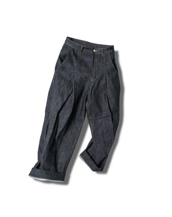 ANGLAN(アングラン) Wide Raw Denim Pants