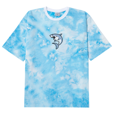 アクメドラビ(acme' de la vie)ADLV SHARK SHORT SLEEVE T-SHIRT SKY BLUE