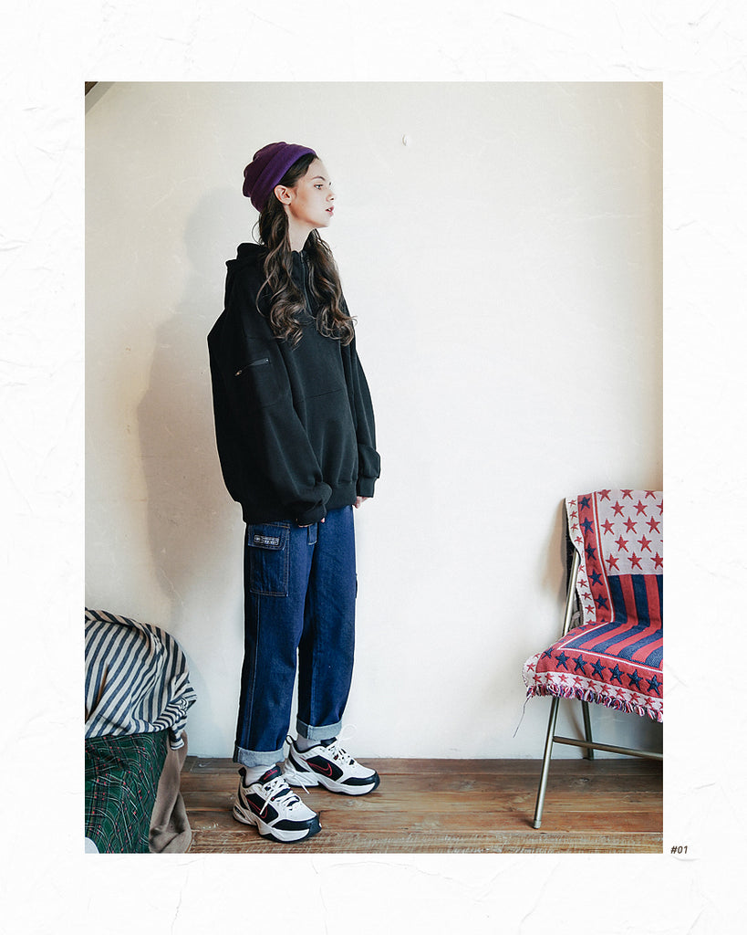 ダブルユーブイプロジェクト(WV PROJECT) FORWORK DENIM PANTS DARKBLUE MJLP7315