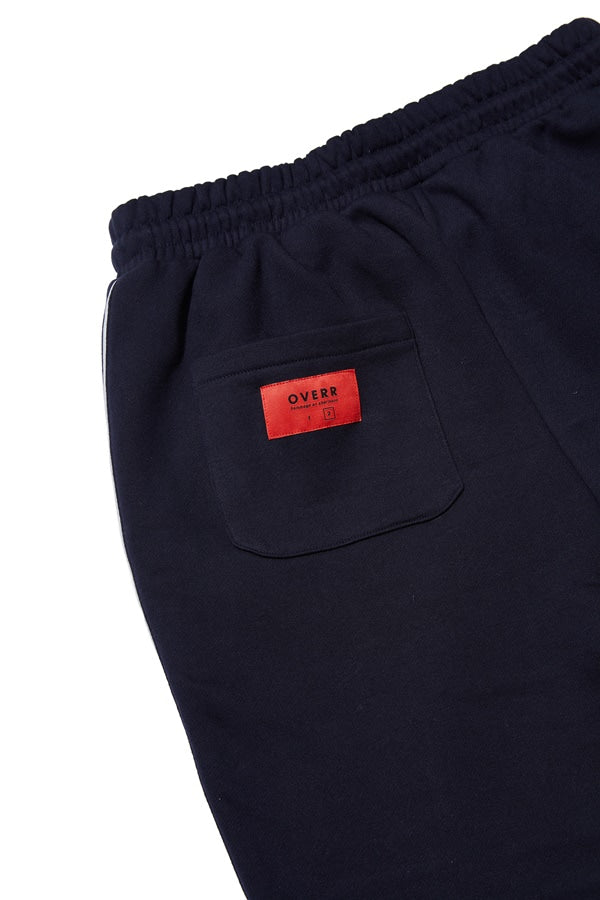 OVERR(オベルー) ESSAY.3 NAVY SCOTCH PIPING PANTS