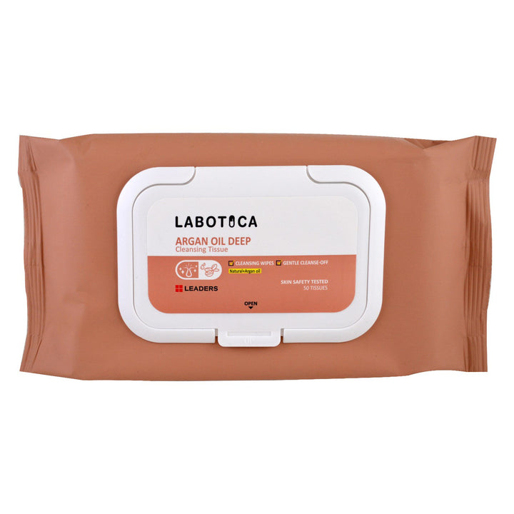 Leaders Labotica Argan Oil Deep Cleansing Tissue 50 pcs - Tarnawatka
