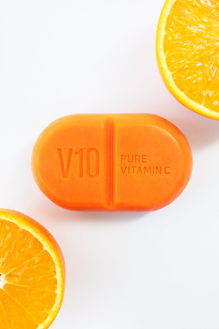 Some By Mi V10 Pure Vitamin C Cleansing Bar 106 g - Tarnawatka