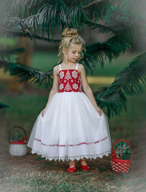 SNOW BELLS DRESS