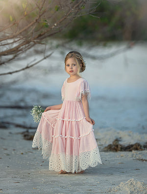 Dearest Sister Dress Pink