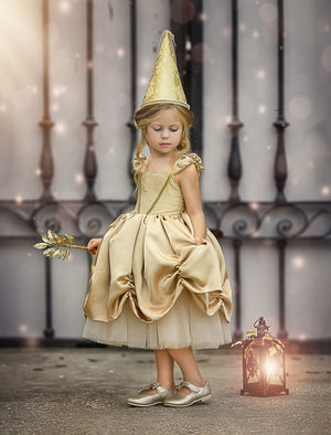 GOLDEN GOOD TIMES DRESS