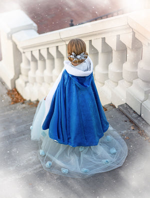 QUEEN FOR A DAY CAPE (BLUE)