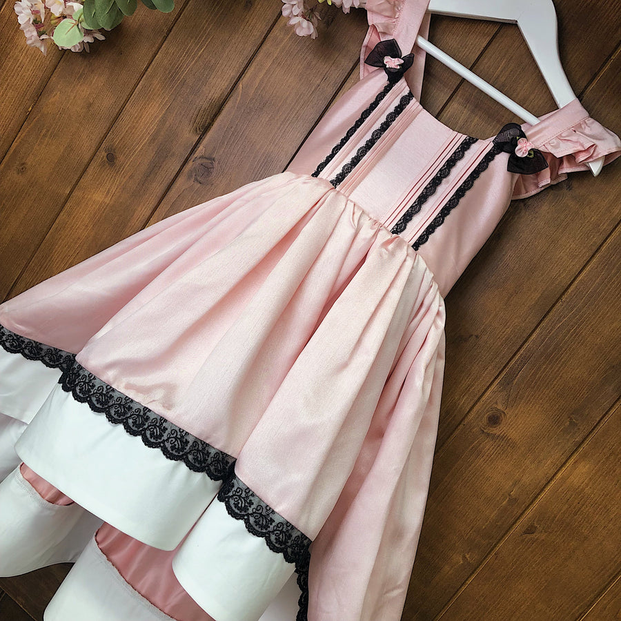 Rose Coloured Glasses High Low Dress
