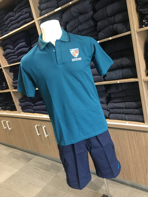 Polo School Teal