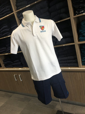 Polo School White