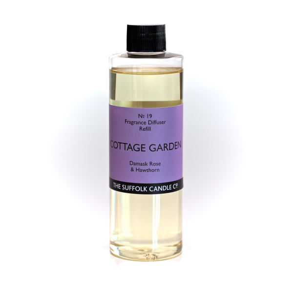 COTTAGE GARDEN - Damask Rose, Hawthorn and Violet - Diffuser oil refill - 250ml