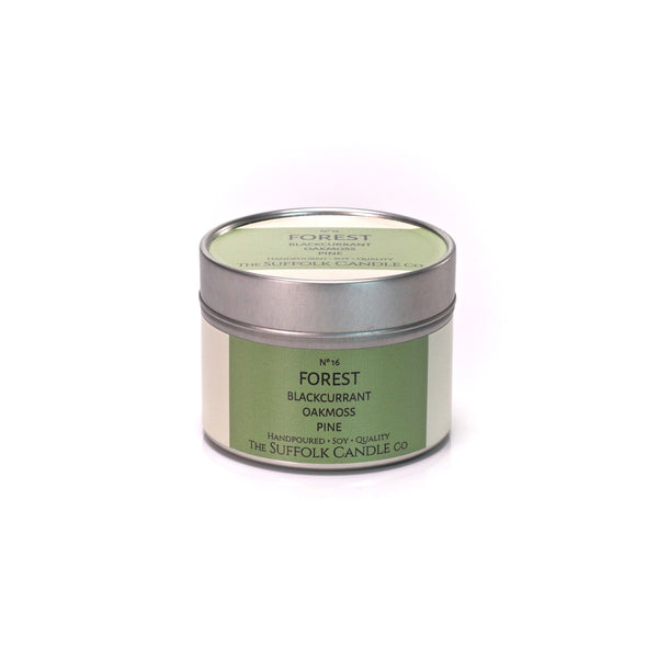 FOREST - Blackcurrant, Oakmoss, Pine - handmade soy candle - 100g