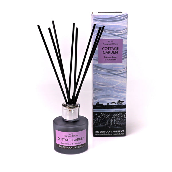 COTTAGE GARDEN - Damask Rose, Hawthorn and Violet - Diffuser - 100ml