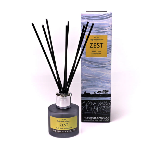 ZEST - Basil, Lime and Mandarin - Diffuser - 100ml