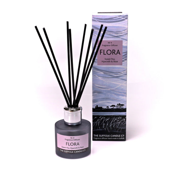 FLORA - Sweet Pea, Hyacinth and Rose - Diffuser - 100ml