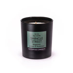 SHINGLE STREET - Bergamot, Juniper and Rosemary - handmade soy candle - 200g - black glass