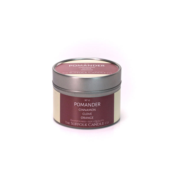 POMANDER - Cinnamon, Clove and Orange - handmade soy candle - 100g