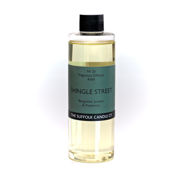 SHINGLE STREET - Bergamot, Juniper and Rosemary - Diffuser oil refill - 250ml