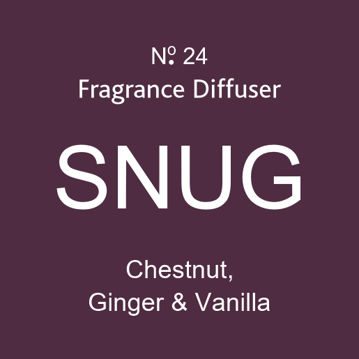 SNUG - Chestnut, Ginger and Vanilla - Diffuser - 100ml