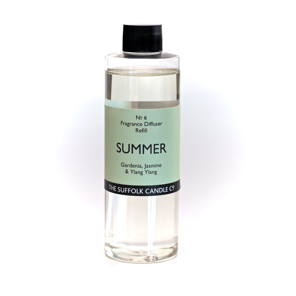 SUMMER - Gardenia, Jasmine and Ylang Ylang - Diffuser oil refill - 250ml