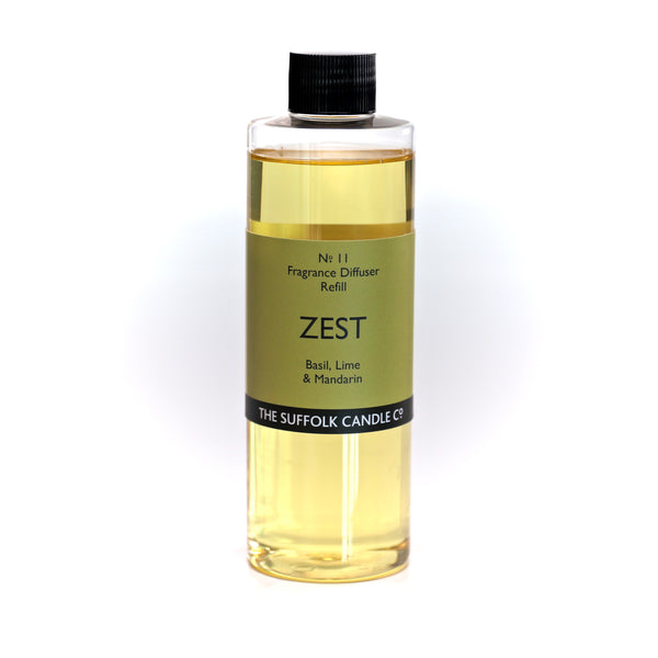 ZEST - Basil, Lime and Mandarin - Diffuser oil refill - 250ml
