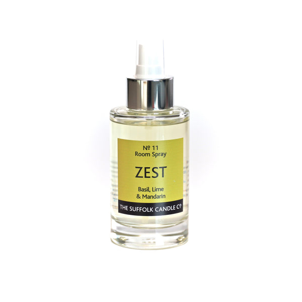 ZEST - Basil, Lime and Mandarin - Room spray - 100ml