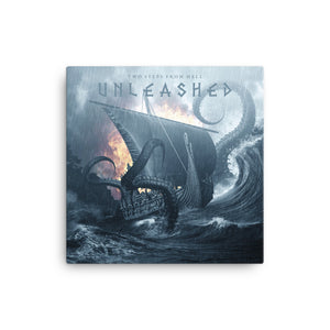 Unleashed Canvas Print - Limited Edition