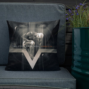 TSFH Vanquish Album Artwork Cushion Live Showcase