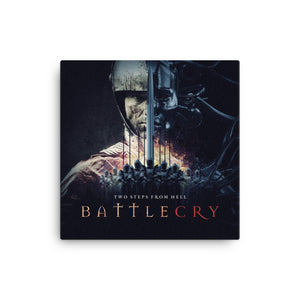 BattleCry Canvas Print - Limited Edition