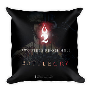TSFH Battlecry Artwork Cushion Back