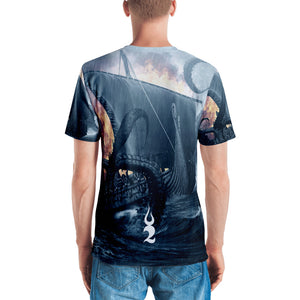 Unleashed All Over Print Men's T-shirt