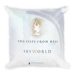 Skyworld Artwork Cushion Back