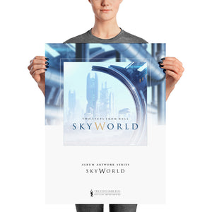 Two Steps From Hell - SkyWorld Poster 18 x 24 Album Artwork Collection