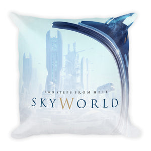 Skyworld Artwork Cushion Front