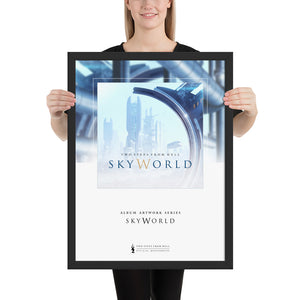 Two Steps From Hell - SkyWorld Artwork Framed Poster 18 x 24