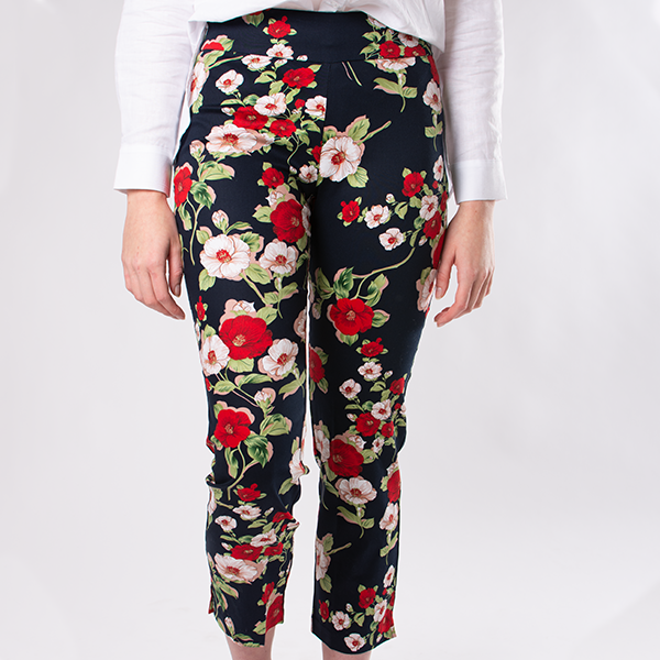 Printed Pants with comfortable stretch.