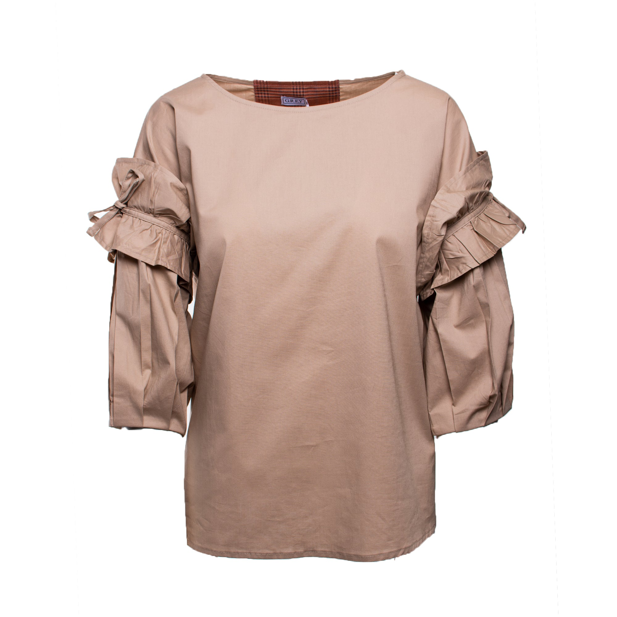 Lantern sleeve blouse | Someday Blouse