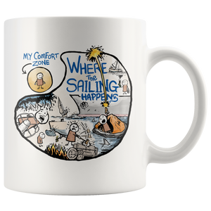 Where the Sailing Happens Mug