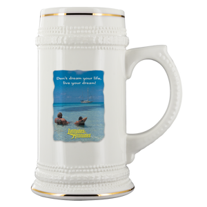 Lats & Atts Beer Stein